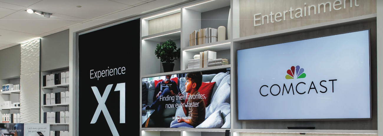 Comcast Xfinity Store Interior